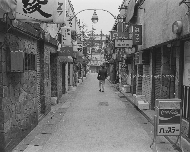 1983年ごろの新宿ゴールデン街 – 善本喜一郎 kiichiro yoshimoto